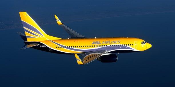 ASL Airlines France exploite une flotte de 19 Boeing 737 (en version 700 et 800)