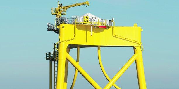 Les éoliennes seront situées près de Saint-Brieuc.