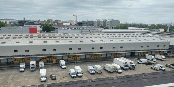 Le MIN de Bordeaux Brienne au sein du nouveau quartier Euratlantique.