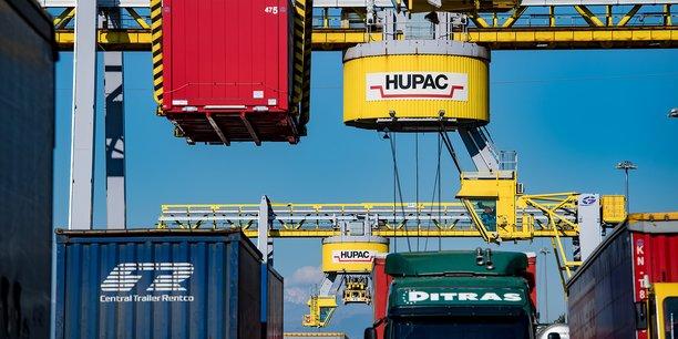 Fondé en 1967, le groupe suisse Hupac opère 130 trains par jour