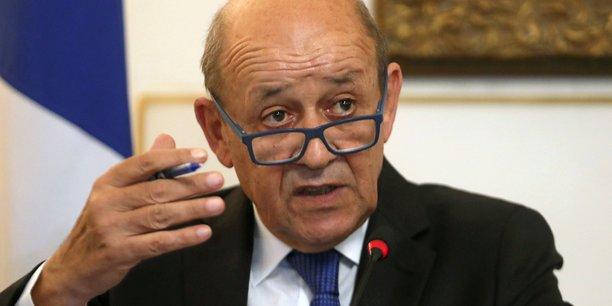 Syrie: le drian condamne l'operation turque en syrie[reuters.com]