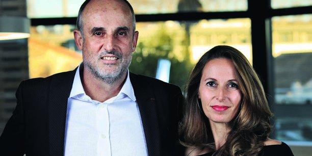 Arnaud Mine et Stéphanie Andrieu restent à la tête de leur PME.