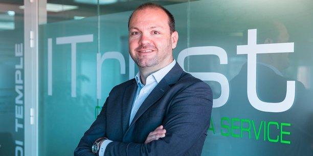 Le président-fondateur de l'entreprise de cybersécurité installée à Toulouse, ITrust, veut devenir un leader européen dans son domaine.