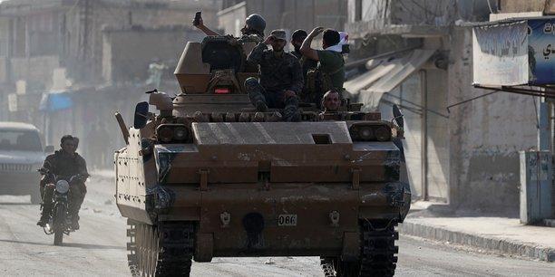 Les troupes syriennes soutenues par ankara pourrait bientot prendre kobani[reuters.com]