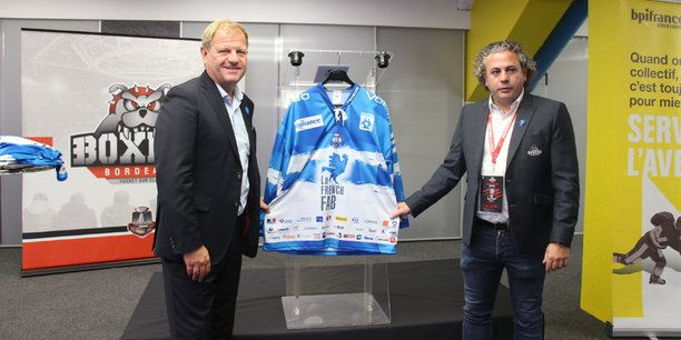 Bpifrance booste les projets du club des hockeyeurs bordelais