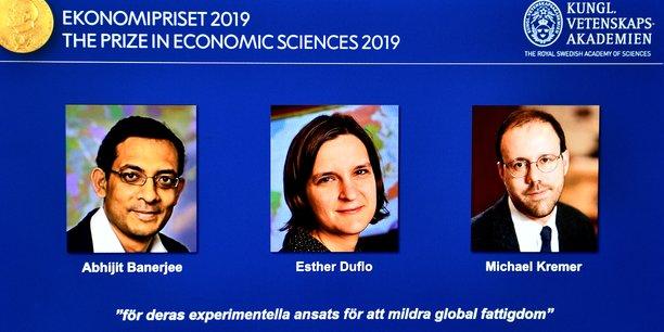 Le Nobel d'économie attribué à un trio, dont Esther Duflo, récompense des recherches sur la pauvreté