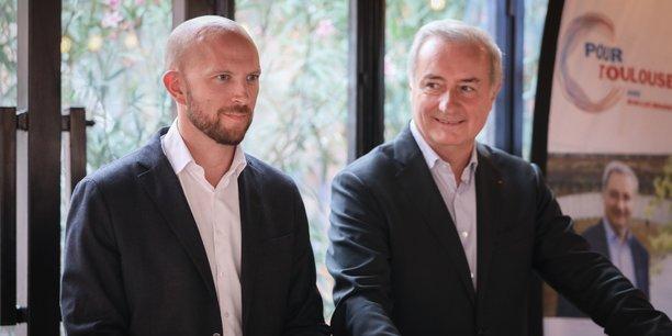 L'entrepreneur Nicolas Misiak est le premier colistier de la liste du maire sortant de Toulouse, Jean-Luc Moudenc.
