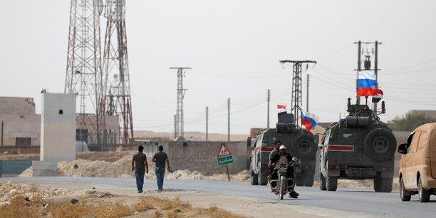 Coordination entre les forces russes et l'armee turque dans la region de manbij, selon l'agence interfax[reuters.com]