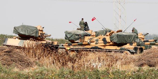 La France a suspendu 500 licences d'exportations d'armes vers la Turquie