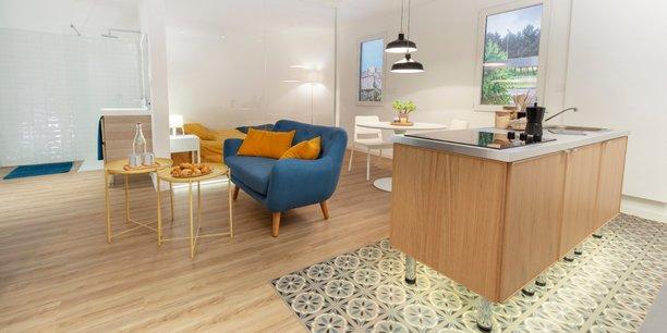 Depuis l'an dernier, l'entreprise de courants faibles Soditel s'est doté d'un appartement témoin, Le Cube, pour tester les produits domotiques et former ses salariés.
