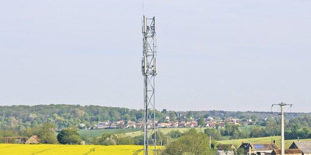 Une antenne de téléphonie mobile.