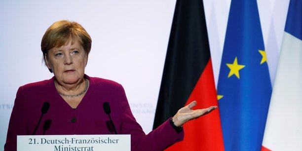 Brexit: nous sommes dans les derniers metres de la negociation, dit merkel[reuters.com]