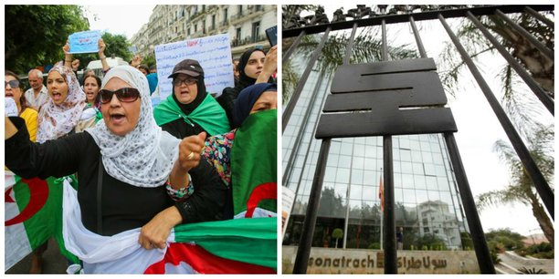 Image manifestations contre un 5eme mandat du président Bouteflika.