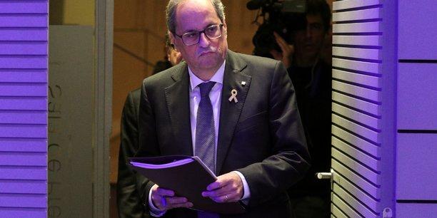 Le president du gouvernement catalan condamne les violences a barcelone[reuters.com]