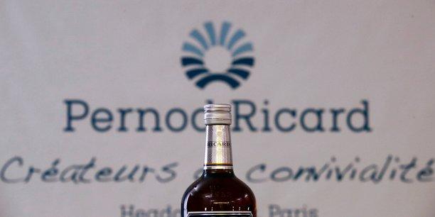 Pernod ricard: ralentissement des ventes au premier trimestre avec la chine et l'inde[reuters.com]