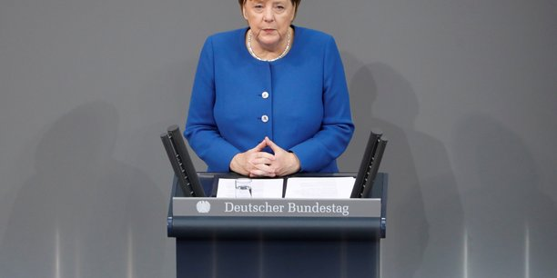Merkel veut reduire la contribution allemande au budget de l'ue[reuters.com]