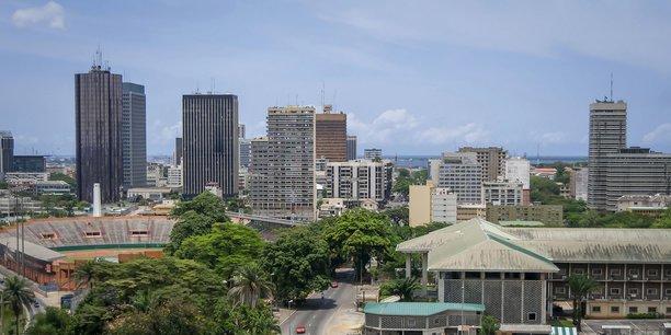 Abidjan, capitale économique de la Côte d'Ivoire, première puissance économique de l'UEMOA.