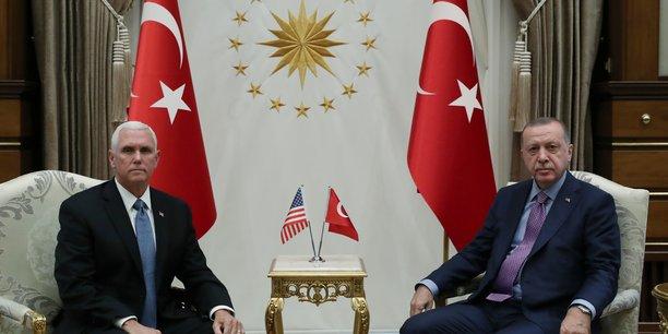 Syrie: mike pence en turquie pour tenter de faire ceder erdogan[reuters.com]