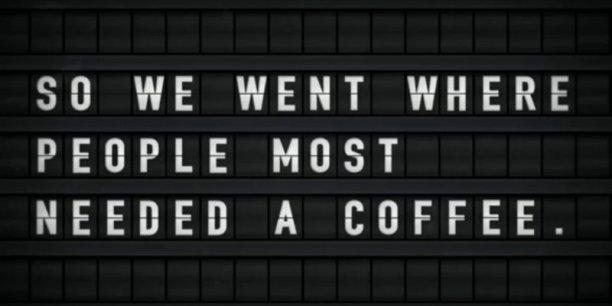 Une machine à café vous offre un espresso si elle vous voit bailler! (capture Groupama Innovation)