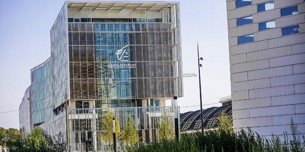 La Caisse d'épargne Aquitaine Poitou-Charentes fait partie des entreprises installées sur le territoire d'Euratlantique