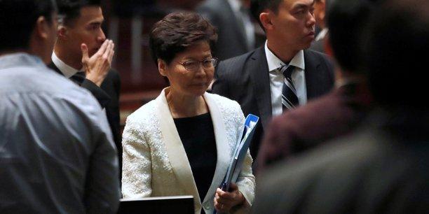 Hong kong: lam justifie l'usage de la force face aux manifestants[reuters.com]