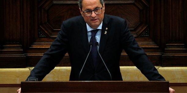 Espagne: le president separatiste catalan appelle au dialogue[reuters.com]