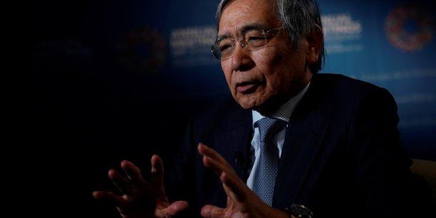 Kuroda (boj): abaisser les taux d'interet a court terme est envisage[reuters.com]