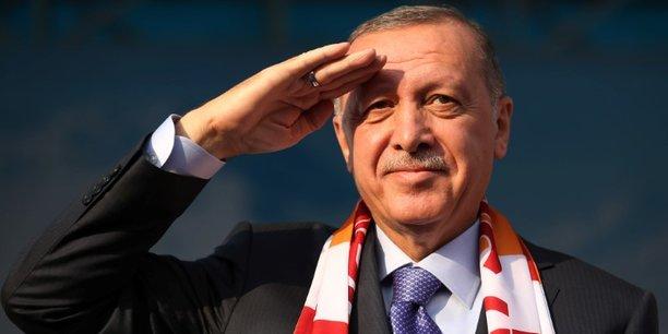 Erdogan pret a ecraser les tetes des terroristes dans le nord-est syrien[reuters.com]
