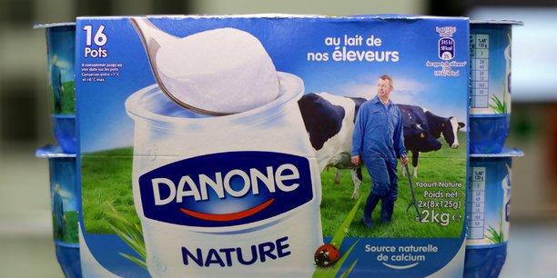 Danone est a suivre a la bourse de paris[reuters.com]