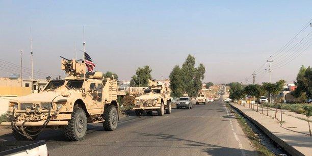 Un convoi de l'armee americaine quitte la syrie pour le kurdistan irakien[reuters.com]