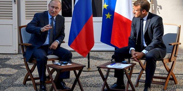 Poutine et macron ont parle de l'ukraine et de la syrie[reuters.com]