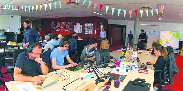 L'incubateur de startups 1Kubator Rennes, dirigé par Cécile Martin, également cofondatrice du cabinet de conseil CXO.