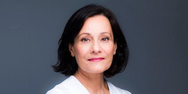 Françoise Mercadal-Delassales, directrice générale du Crédit du Nord.
