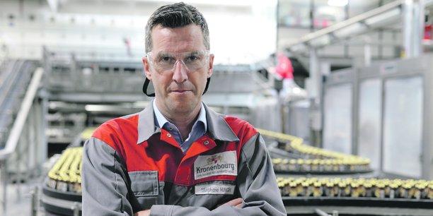 De nombreux chantiers attendent le directeur de l'usine Kronenbourg, ndont l'ouverture d'une douzième ligne de production.