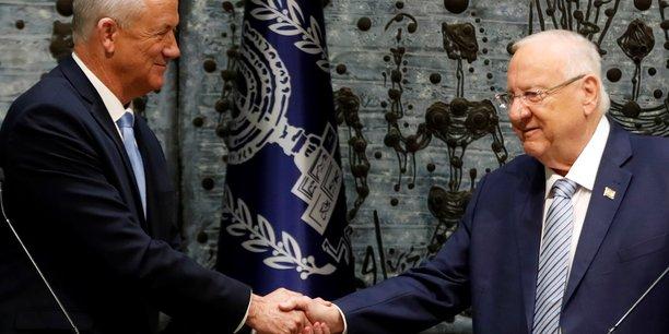 Israel: benny gantz officiellement charge de former un nouveau gouvernement[reuters.com]