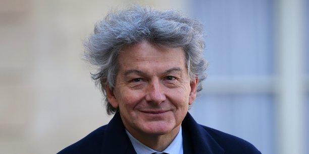 Thierry Breton a officiellement été nommé candidat de la France pour le poste de Commissaire européen.