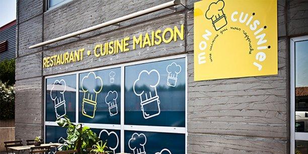 C'est sur le site du restaurant Mon Cuisinier, dans le quartier Prés d'Arènes à Montpellier, que sont produits les plats ensuite livrés sur différents sites.