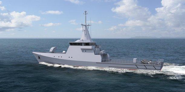 Kership (Piriou et Naval Group) vend trois patrouilleurs armés au Sénégal