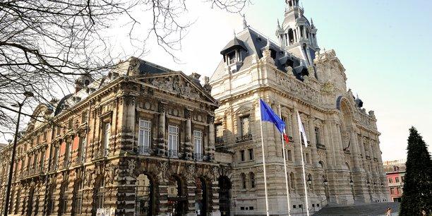 La mairie de Roubaix.
