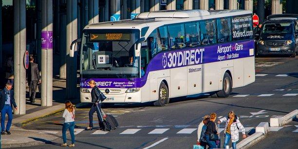 L'association Trans'Cub s'inquiète de la suppression programmée des liaisons directes en bus entre l'aéroport de Mérignac et la gare Saint-Jean.