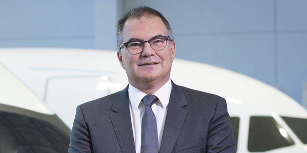 Philippe Mhun, vice-président des programmes et des services d'Airbus.