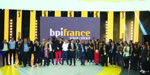 Les équipes de Bpifrance à l'occasion de l'édition 2019 de Bpifrance Inno Génération.