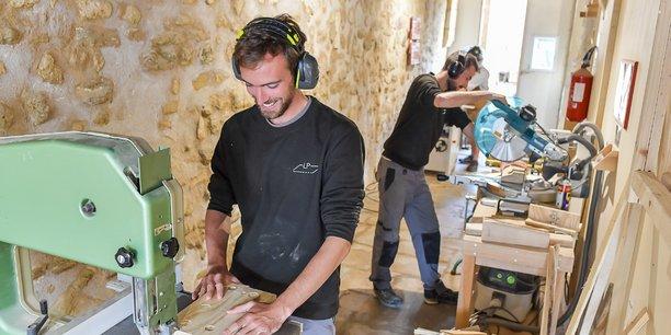 Les artisans associés de La Planche, à Bordeaux.