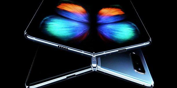 Le coréen souhaite se donner une image de concepteur de « technologies de premier rang », à travers des produits innovants intégrant la 5G ou de son smartphone doté d'un écran pliable, comme le Galaxy Fold (en photo).