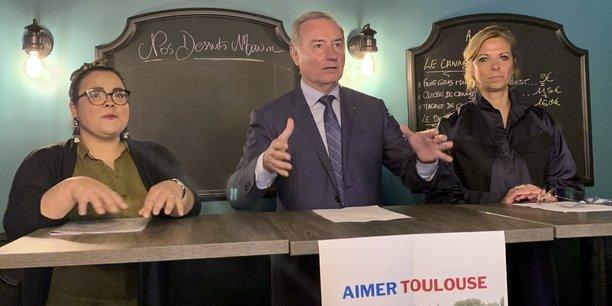Jean-Luc Moudenc a donné son sentiment sur les premières propositions de son adversaire aux élections municipales, Nadia Pellefigue.