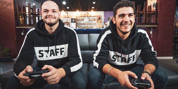 Jérémie Villeneuve et Pierre Magerand, co-fondateurs de la marque Nametag