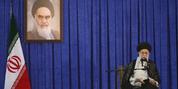Le guide suprême l'Ayatollah Ali Khamenei.