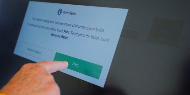 Vote électronique en Pennsylvanie (Etats-Unis).