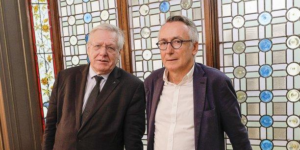 Bernard Devert et Bruno Martin