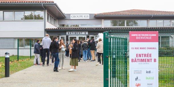 Face à la croissance importante de ses effectifs, le groupe IGS n'a eu d'autre choix que de s'agrandir à Toulouse, ville où il est implanté depuis 1979.